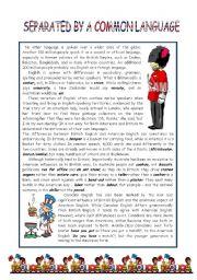 Bristish English and American English