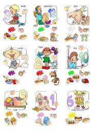 English Worksheets: Mini Town Cards (5/5)