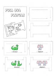 English Worksheets: Pull Out Plurals