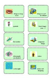 English Worksheets: *Vocabulary revision and brainstorming # 2*