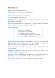 English Worksheets: If you�re happy and you know it...