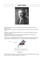 Who was Einstein?