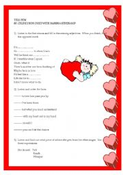 English Worksheets: Tell Him by Celine Dion