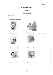 photograph about Free Printable Placement Test identified as Printable childrens esl place checks Trials Eire