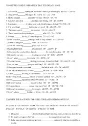 English Worksheet: PREPOSITIONS,PHRASES AND PARAPHRASING