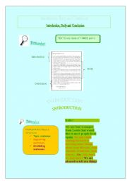 English Worksheets: Building  a text 2: how to write a text