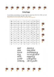 English Worksheets: Going Buggy
