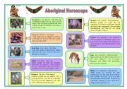 Aboriginal horoscope (character adjectives)