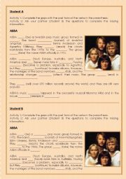 ABBA: simple past