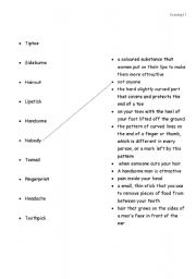 English Worksheets: Two words in one - 7 - matching