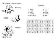English Worksheets: DOMESTIC ANIMALS
