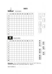 English Worksheets: Battleships