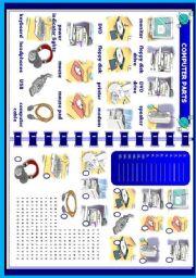 English Worksheets: Computer parts
