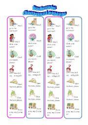 Bookmarks - Classroom Commands