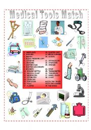 Medical Tools Matching