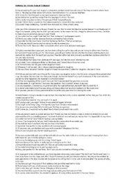 English Worksheets: situatonal response exercise with key