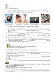 English Worksheet: PHOBIAS - VIDEO / SPEAKING ACTIVITY