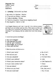 Diagnostic Test 2nd