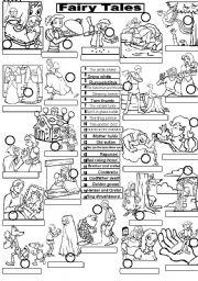 FAIRY TALES - worksheet by Im Lety