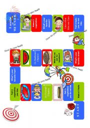 Gameboard Food & Emotions