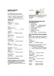 English Worksheet: ELECTRICITY, ELECTRICITY