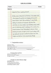 English Worksheets: Like_Don`t_Like