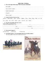 English Worksheet: Buffalo Soldier - Bob Marley