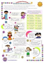 English Worksheet: Language functions series (9)  - Expressing likes, dislikes, preferences and neutral opinions