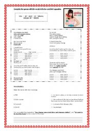 English Worksheet: Hot n Cold - Katy Perry