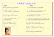 English Worksheet: Cosmetics crossword