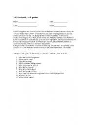 English Worksheets: Livingstone