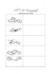 english teaching worksheets going shopping. Black Bedroom Furniture Sets. Home Design Ideas