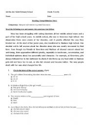 Worksheets Grade 5 English Worksheets reading comprehension for grade 5 english worksheet 5