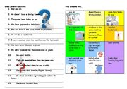 English Worksheets: Revision of question forms