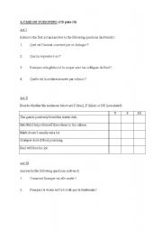 English Worksheets: A CASE OF P�ISONING