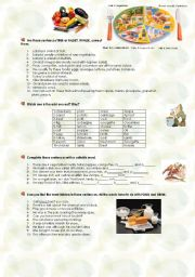 food exercises
