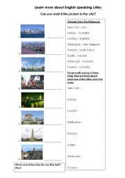 English speaking cities