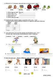 English Worksheet: 5th grade 2nd term 3rd exam page2