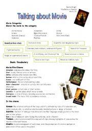 English Worksheets: Movie
