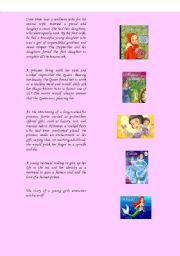 English Worksheets: Fairytales