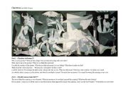 English Worksheet: Art - Guernica by Picasso