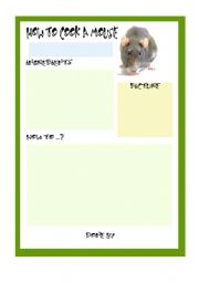 English Worksheets: How to cook a Mouse