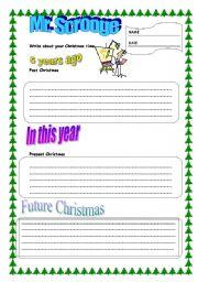 English Worksheets: mr. Scrooge