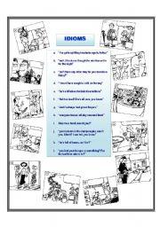 English worksheets: Idioms worksheets, page 38