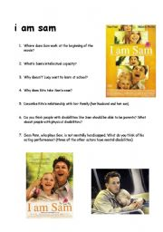 morral lessons on the i am sam the movie I am sam autism movie summary sam dawson has the mental capacity of a 7-year-old he works at a starbucks and is obsessed with the beatles he has a daughter with a homeless woman she abandons them as soon as they leave the hospital.