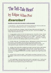 English Worksheet: 9 pages of Reading, Listrening, Speaking and Writing comprehension exercises