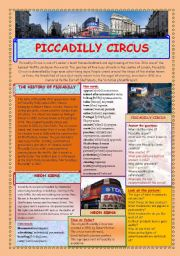 PICCADILLY CIRCUS (2 PAGES)