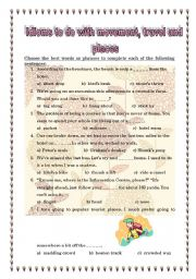 Idioms to do with travelling