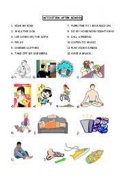 activities after school