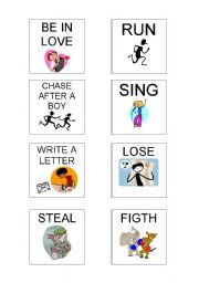 English Worksheets: HAVE YOU EVER..? (Cards)